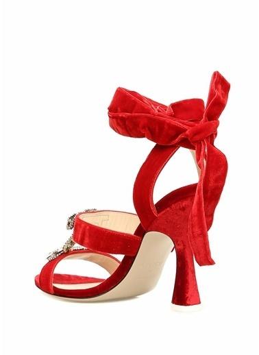 Attico Sandalet Kırmızı